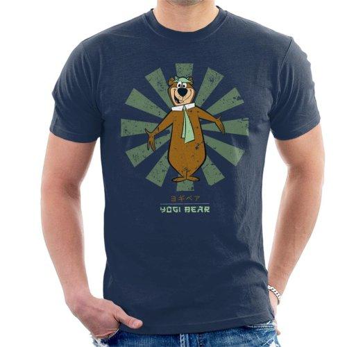 Yogi Bear Retro Japanese Men's T-Shirt