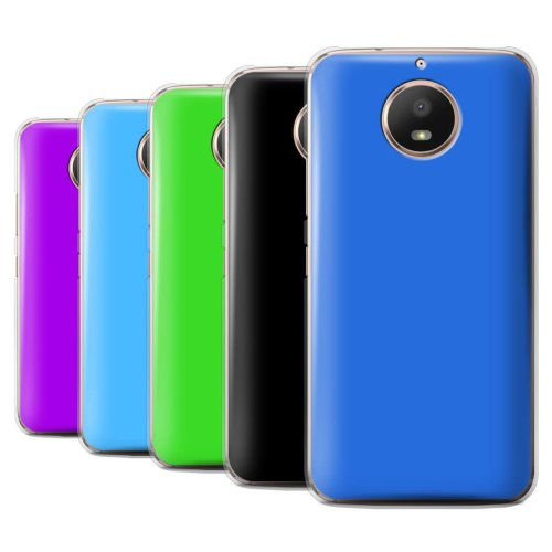 Colours Motorola Moto E4 Plus 2017 Phone Case Transparent Clear Ultra Slim Thin Hard Back Cover for Motorola Moto E4 Plus 2017