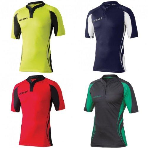 KooGa Mens Tight Fit Curve Premium Match Sports Shirt