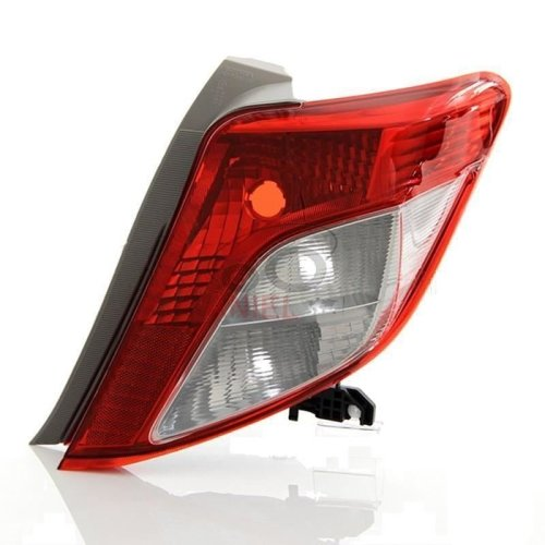 Toyota Yaris 2011-2015 Rear Tail Light Drivers Side Right O/s