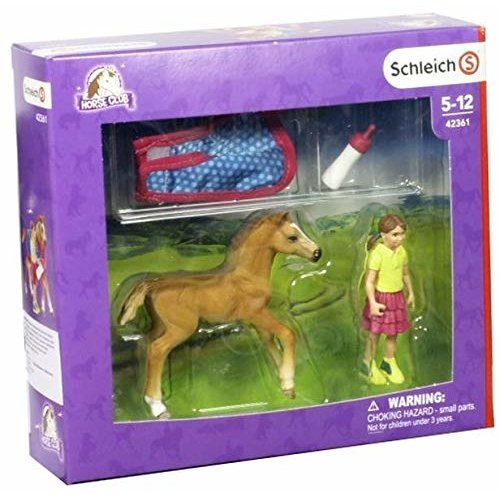 Schleich 42361 Foal with Blanket NEW!!