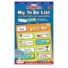 My To Do List Magnetic Activity Chart
