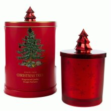 Wax Lyrical Christmas Tree Wax Candle in a Musical Tin
