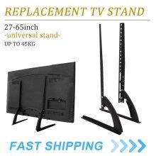 Universal Top TV Bracket Stand Base Pedestal Mount LCD LED 27-65 Table