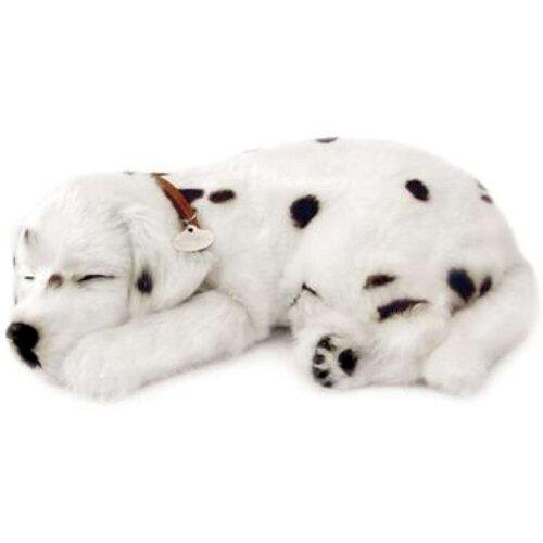 Perfect Petzzz  The Original Breathing Pet Dalmatian Puppy New Huggable Soft Version Plush Toy Gift Bundle