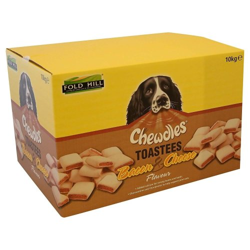 Pointer Bacon And Cheese Flavoured Dog Toastees