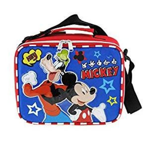 Lunch Bag - Disney - Mickey Mouse - Hey Friends Kit Case New 007744