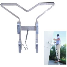 Universal Ladder Stand Off V-Shaped Downpipe Easy to Increasing Safety