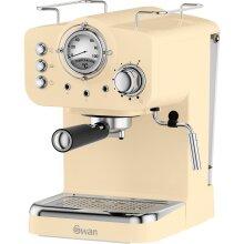 Swan Retro SK22110CN Espresso Coffee Machine - Cream