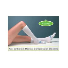 Covidien Kendall Open Toe Knee Length T.E.D Anti-Embolism Stockings, 1 Pair
