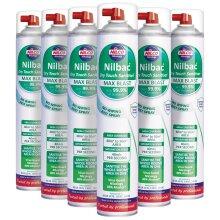 Nilco Dry Touch Max Blast Sanitiser - 750ml x 6