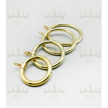 Solid Hollow Brass Curtain Rings
