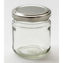 Nutley's 100ml Small Glass Jam Jar (Pack of 6)