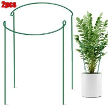 Large Plant Bow Strong Metal Supports Garden Hoop For Peonies, Hydrangea, Etc