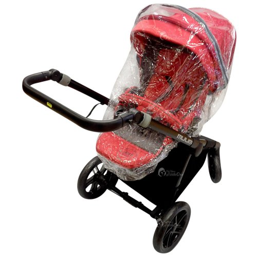 Raincover Compatible with Bebecar Ip-Op Stylo Icon Grand Carrycot 198