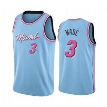 Miami Heat Dwyane Wade Men's Basketball Jersey Sport Shirts Sleeveless T-Shirt