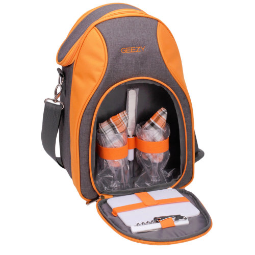 GEEZY 2-Person Insulated Picnic Cooler Bag