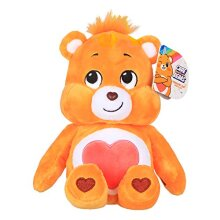 Care Bears 22046 9 Inch Bean Plush Tenderheart Bear, Collectable Cute Plush Toy, Cuddly Toys for Children, Soft Toys for Girls and Boys, Cute Teddies