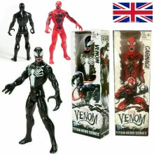 "12"" Marvel Avengers Red Venom Spider-Man Action Figure Model Play Toys Xmas Gift"