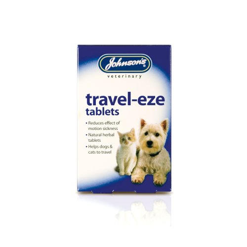 Johnsons Veterinary Dog/Cat Travel-Eze Tablets