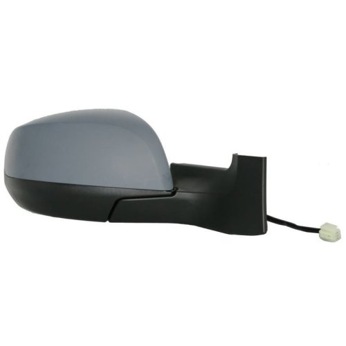 Suzuki Splash 2008-> Electric Adjust Wing Door Mirror Primed Cover Drivers Side