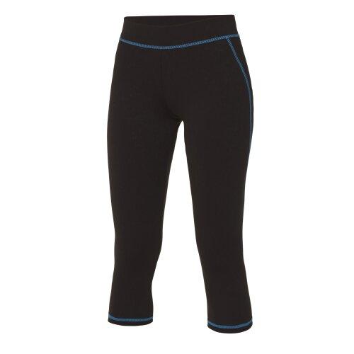 AWDis Cool Girlie Womens 3/4 Length Running Sports Gym Capri Pants Leggings