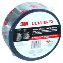 3M Company 3350 48 Mm. X 109.6 M., Silver Duct Tape