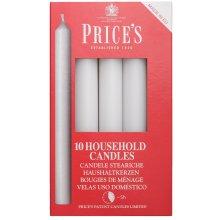 10pk Household Candles  White