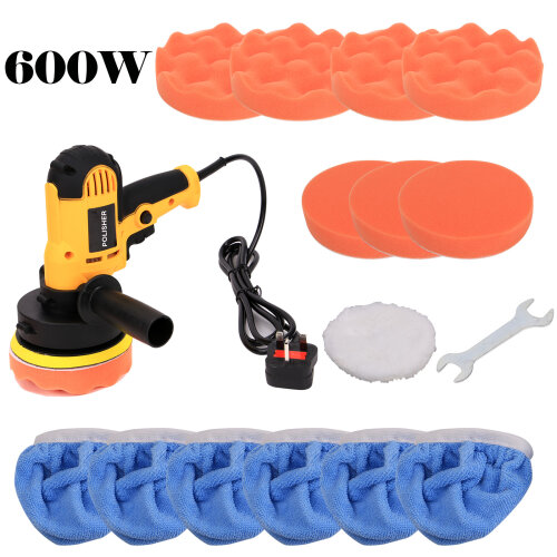 "5"" 600W Car Waxing Polisher Kit For Car Polisher Drill"