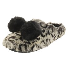 Toms Ivy Pom Pom Womens Slippers Shoes in Leopard
