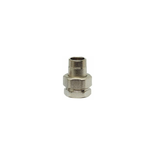 Filler male female straight, nickel-plated