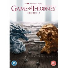 Game of Thrones: The Complete Seasons 1-7 DVD Boxset | Region 2