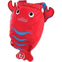 Trunki Kid's Water-Resistant Swim & Gym Bag – PaddlePak Pinch Lobster (Red)