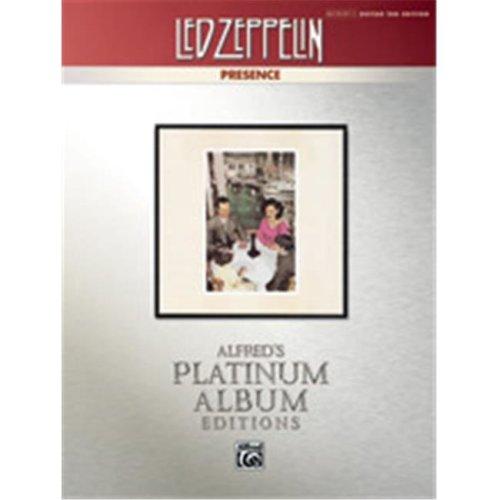 Alfred 00-37222 LED ZEPPELIN PRESENCE GTR PLATINUM
