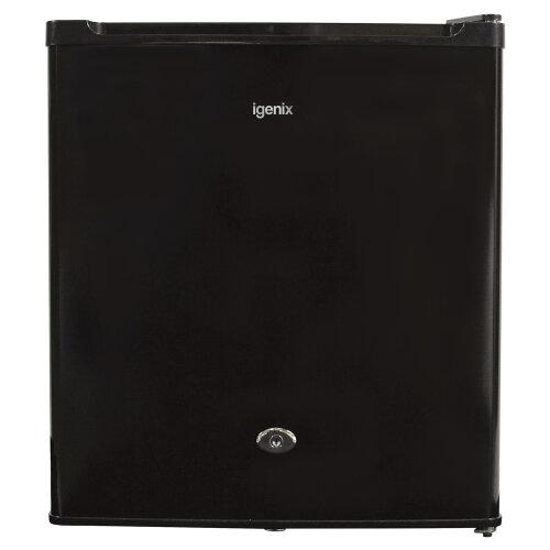 Igenix IG3711BL Table Top Fridge with 47 Litre Capacity with Freezer Compartment & Shelf, Black