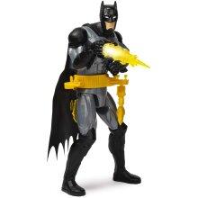 BATMAN, 12-Inch Rapid Change Utility Belt BATMAN Deluxe Action Figure with Lights and Sounds