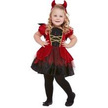 Toddlers Halloween Devil Fancy Dress Costume Age 3-4