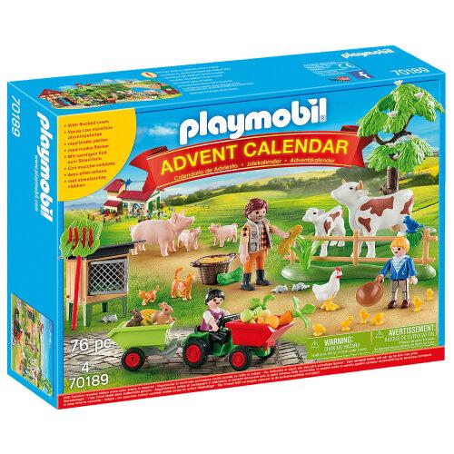 Playmobil 70189 Farm Advent Calendar 2020