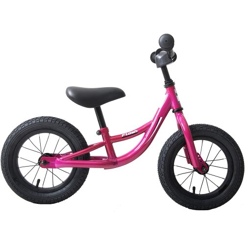 "Hawk Flash 12"" Wheel Kids Balance Training Bike Purple"