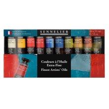 Sennelier Fine Artists' Oils 10x 21ml Tubes