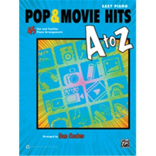 Alfred 00-39465 POP & MOVIE HITS A TO Z - EP COATES