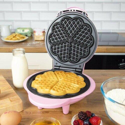 Global Gizmos 1000 Watt Non-Stick Electric Mini Waffle Maker