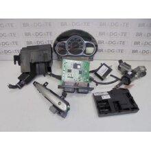 MAZDA 2 1.3 PETROL  2010-2015 ECU KIT  ZJ ENGINE CODE - Used