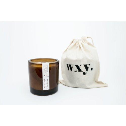 WXY Big Amber Candle - Smoked Rose & Sumatran Pine