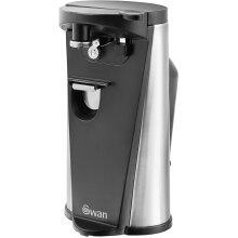 Swan 3in1 Hands Free Can Tin Including Knife Sharpener Bottle Opener 60w Black