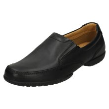 Mens Clarks Extra Wide Fitting Casual Shoes Recline Free - H Fit