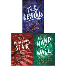 Truly Devious Series 3 Books Collection Set By Maureen Johnson