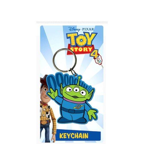 Toy Story 4 Alien Rubber Keyring