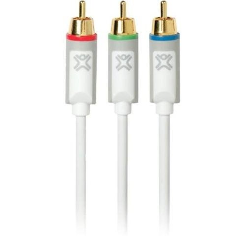 Xtrememac XHD-2MCOM-00 XtremeHD 2m Component Video Cable for Apple TV & More, White