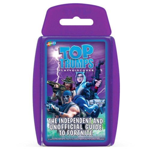 The Independent And Unofficial Guide To Fortnite | Top Trumps Card Game